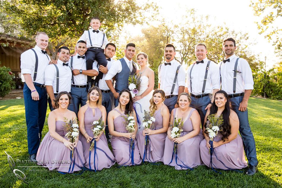 Wedding photo at Wiens Winery by Temecula wedding photographer of Photoquest Studio, Samantha & Joe (40)