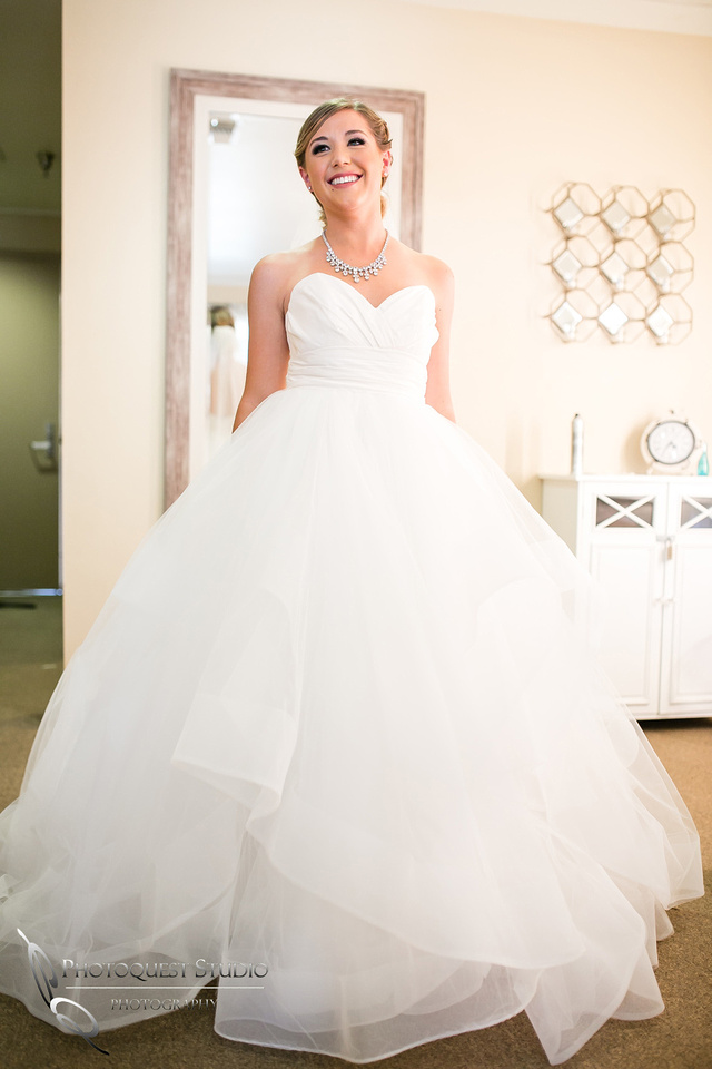 Gorgeous Wedding dress by Temecula wedding photographer