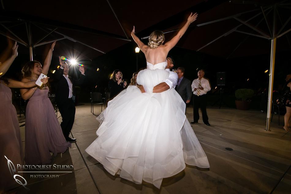Wedding photo at Wiens Winery by Temecula wedding photographer of Photoquest Studio, Samantha & Joe (78)