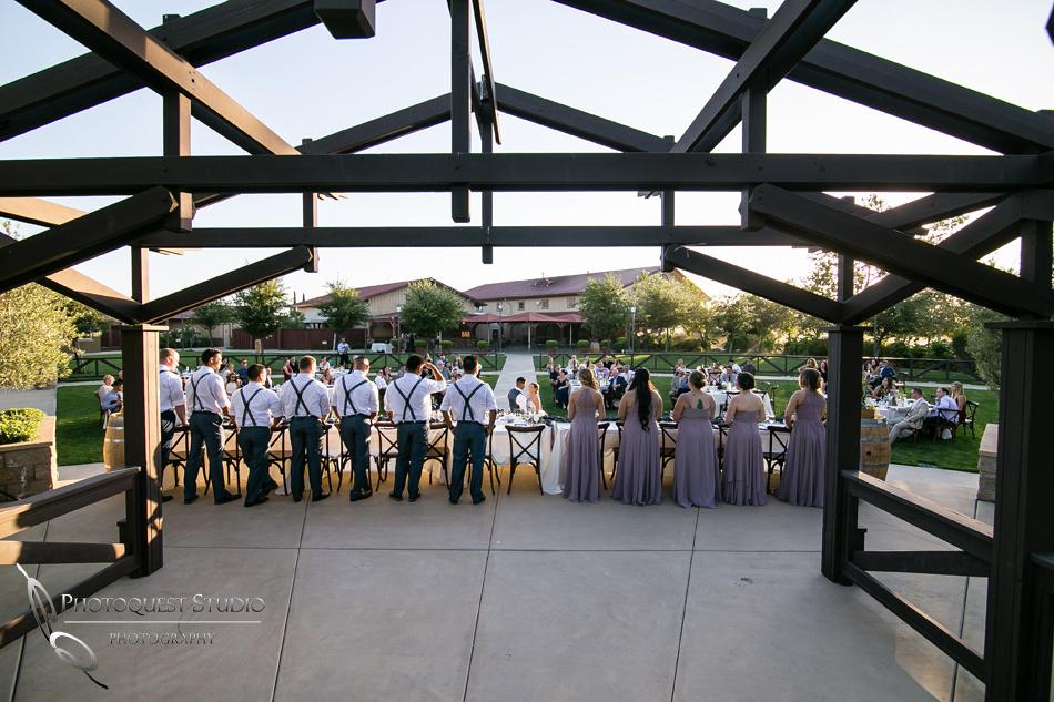 Wedding photo at Wiens Winery by Temecula wedding photographer of Photoquest Studio, Samantha & Joe (63)