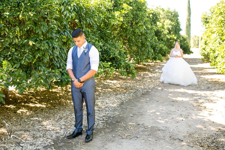 Wedding photo at Wiens Winery by Temecula wedding photographer of Photoquest Studio, Samantha & Joe (16)