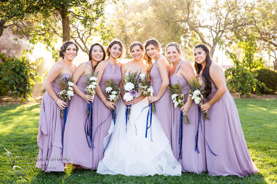 Wedding photo at Wiens Winery by Temecula wedding photographer of Photoquest Studio, Samantha & Joe (41)