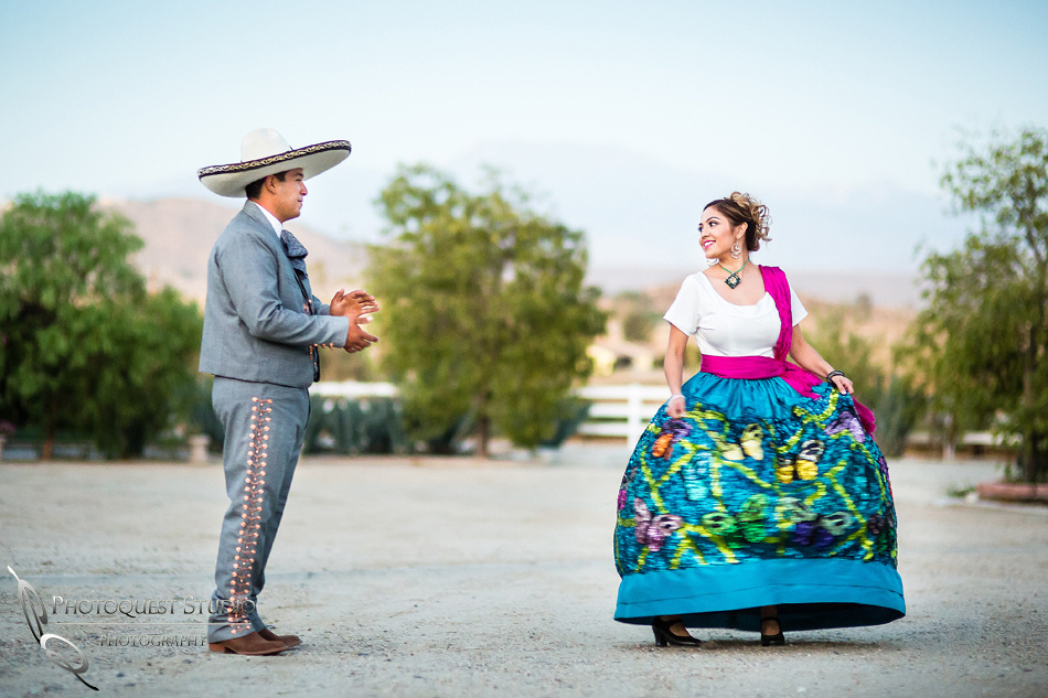 dancing and cheering, the vaquero