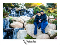 Family Photography at Redhawk Waterfall in Temecula