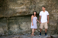 Encinitas San Diego Beach Engagement Photo by Temecula Wedding Photographer