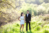 Temecula Old Town and Fallbrook Sunset Engagement Photo Session by Menifee, Temecula Wedding Photographer