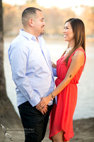 Engagement Photo at Mission Inn Hotel and Fairmount Park, Riverside - Monica & Hector