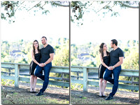 Outdoor Engagement Photo by Laguna Hill Wedding Photographer Vanessa and Art