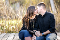 Fall Engagement  Photo by Temecula and Fallbrook Wedding Photographer, Carly and Brian