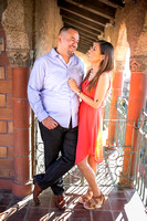Engagement Photo at Mission Inn Hotel and Fairmount Park, Riverside - Monica & Hector (13)