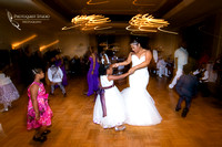 Bride and Daughter dance, Los-Angeles-Temecula-Wedding-Photographer-at-Castaway-Burbank