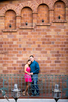 Mission Inn Hotel, Fairmount Park Engagement Photo Davina & Steve
