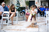 Mission Inn Hotel Wedding, beautiful flower girl