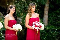 maid of honor and the bridesmaid at grand tradition wedding