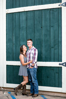 Engagement Photo at Wiens Temecula Winery & Old Town - Amanda & Jonathon