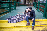 Outdoor Engagement photo by Temecula wedding photographer - Daniela & Ben