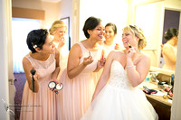 Makeup funs, Temecula wedding photographer at Wedgewood San Clemente, Orange County