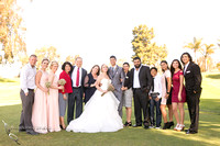 Temecula, Fallbrook wedding photographer, two families became one