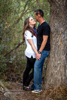Southern California Engagement with nature in fall Photos in Fallbrook, San Diego by Temecula Winery Wedding Photographer, Sarah & Shawn