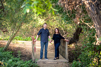 Beautiful Outdoor with Nature Light Engagement photo by Wedding Photographer in Temecula (5)