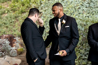 Crying groom by Fallbrook, Temecula Wedding Photographer