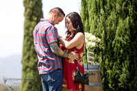 and they fell in love - Surprise Proposal, Temecula Winery by Wedding Photographer