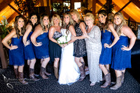 All the Ladies at Wedding at Longshadow Ranch Winery