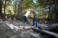 Lytle Creek, San Bernadino Engagement photos by Temecula Wedding Photographer, Amanda and Matt  (1)