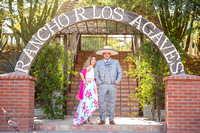 Engagement Photo by Menifee, Wedding Photographer at Rancho R Los Agaves, Alfi and Angel