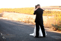 kiss at the first look, Falkner winery wine wedding by temecula wedding photographer