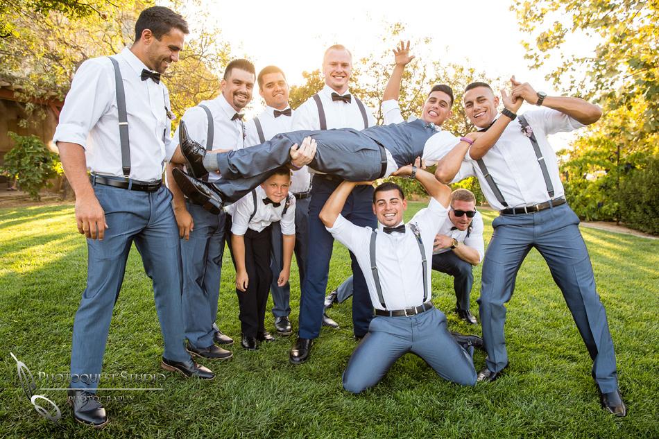 Wedding photo at Wiens Winery by Temecula wedding photographer of Photoquest Studio, Samantha & Joe (47)
