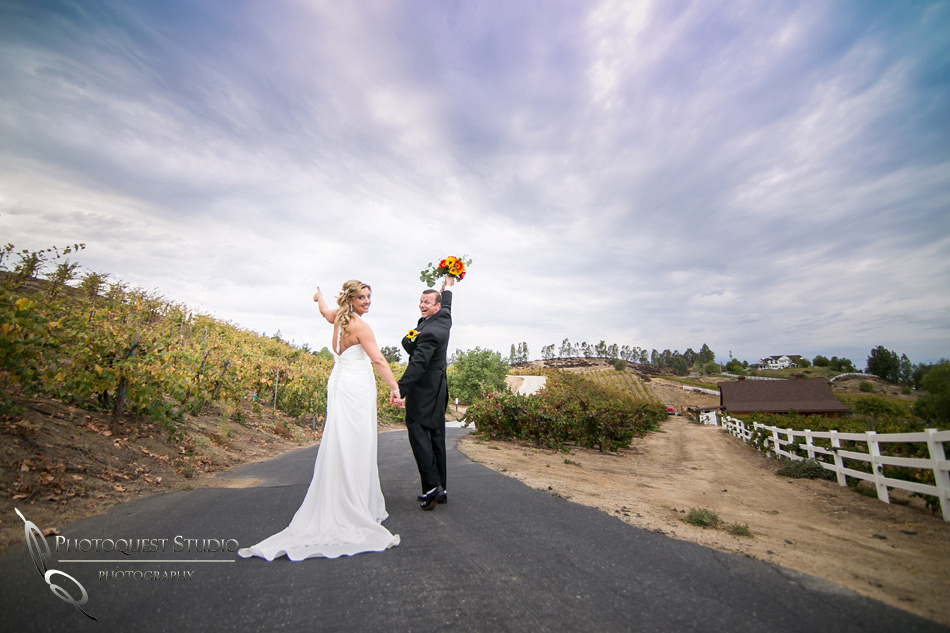 Me, you and the sky by Temecula Wedding Photographer