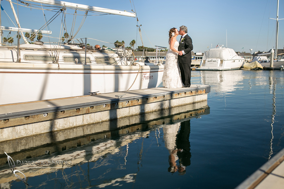 Long Beach, California Wedding, Alamitos Bay Yacht Club, by Orange County Wedding Photographer - Bonnie & Jorge