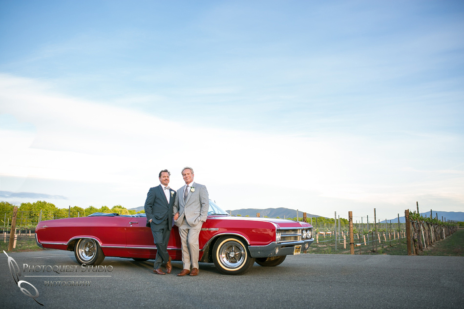 Got classic car by Photoquest Studio Photography, Temecula wedding photographer at Wiens Winery