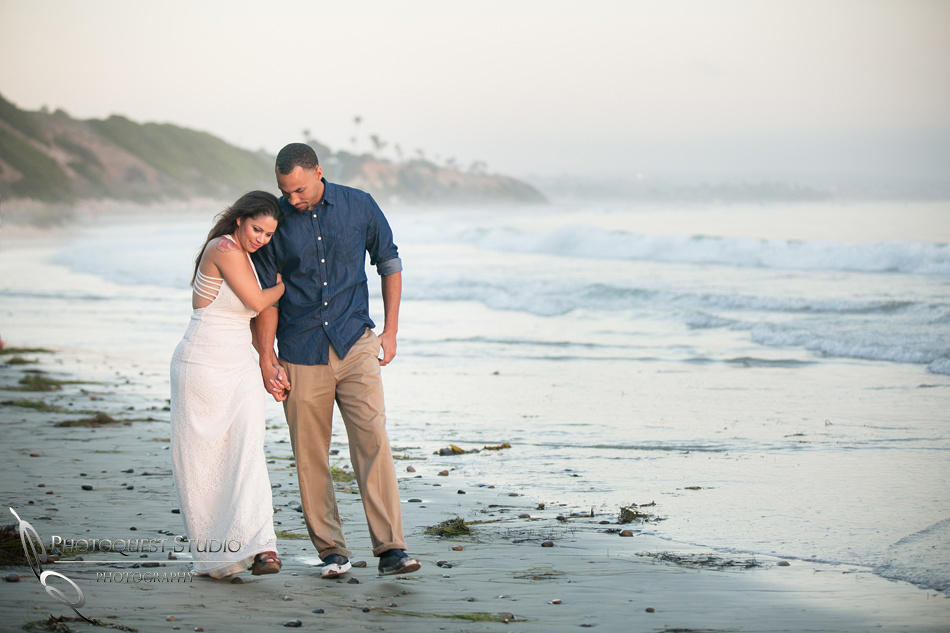 Beach Engagement Photo by Temecula Wedding Photographer (114)