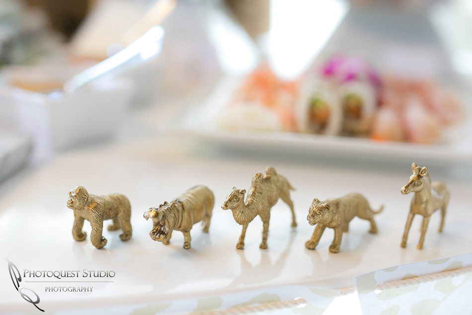 Safari theme - 1st Birthday Party White and Gold