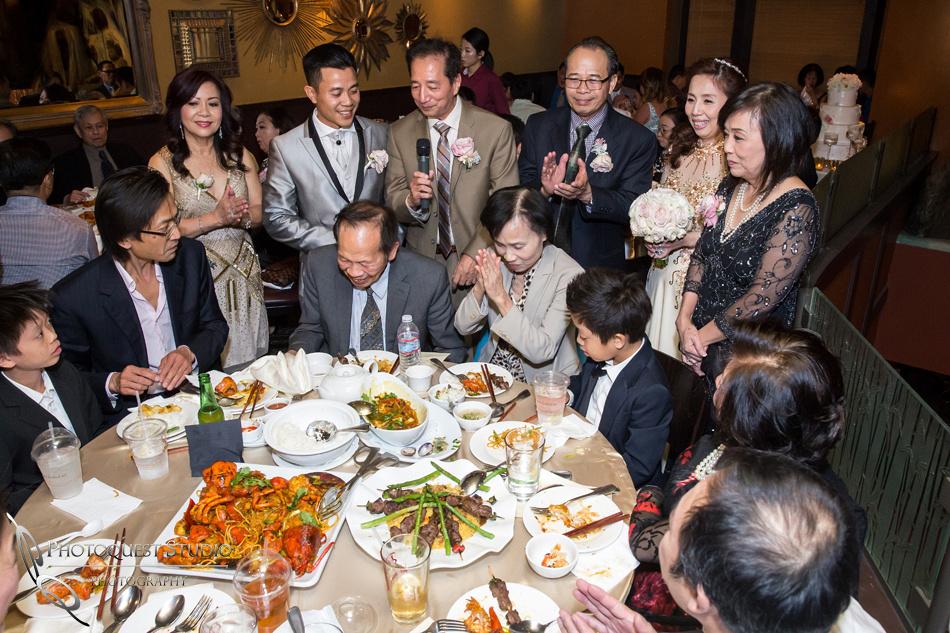 Brodard Chateau Wedding - Chao ban