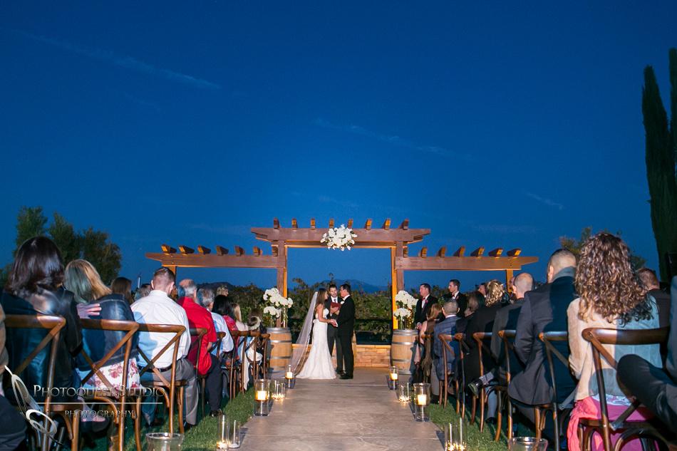 Beautiful wedding at Wiens Family Cellars Temecula Winery - Sarah & Shawn