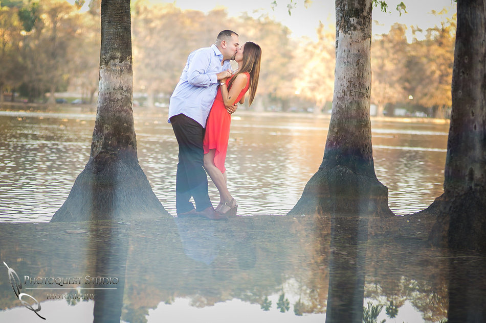 Dip And Kiss At Fairmount Park Riverside