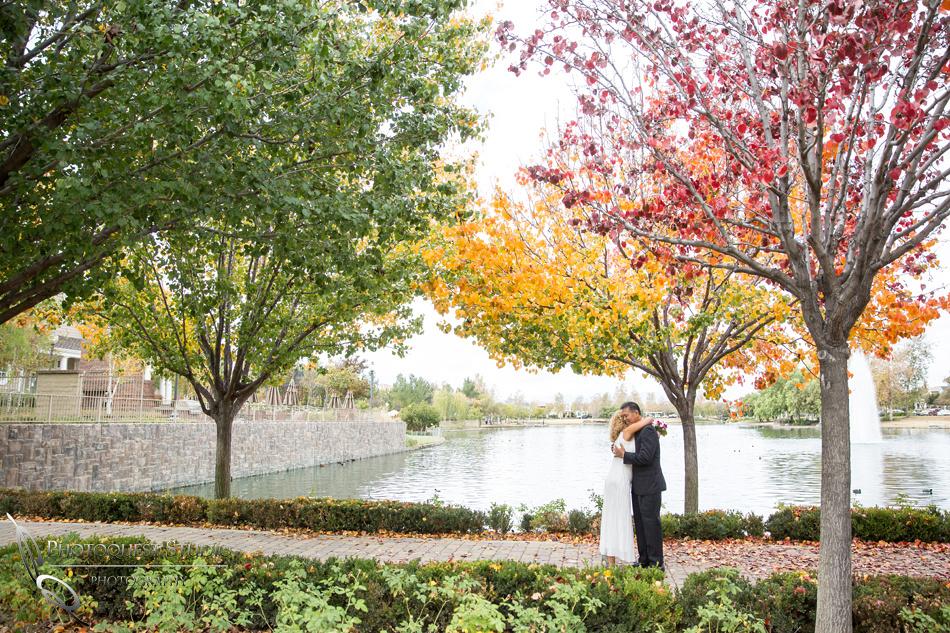 Lake Harveston Wedding Photo by Temecula Wedding Photographer, Robin and Sonny