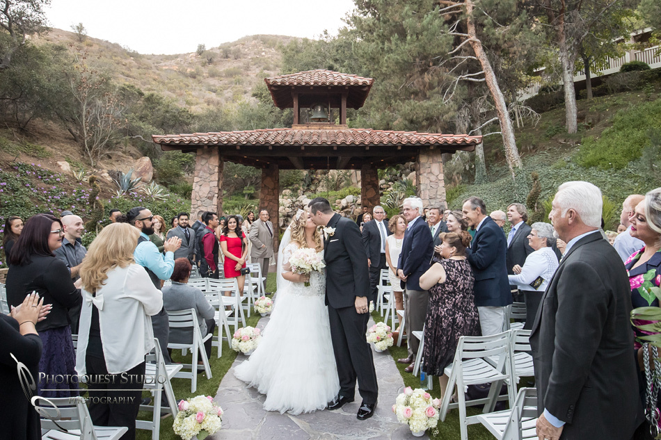 2nd kiss by Fallbrook, Temecula Wedding Photographer