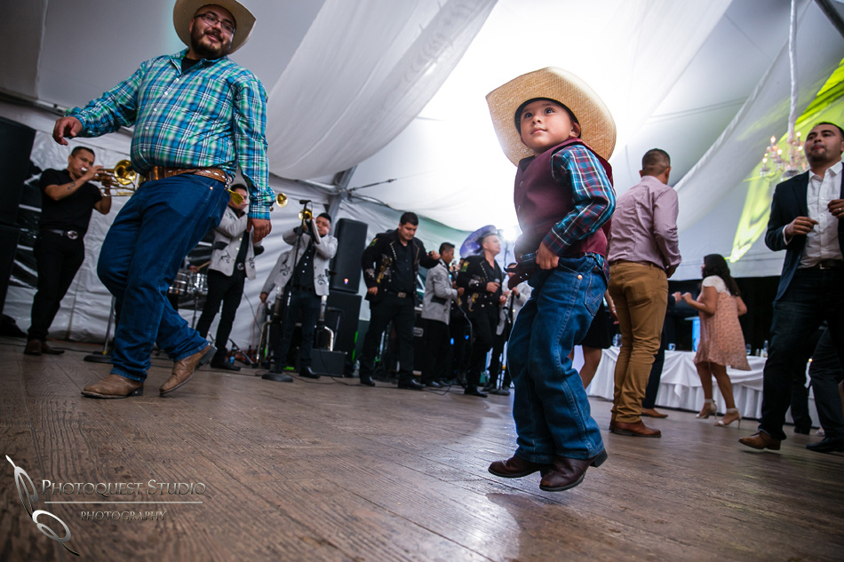 the little caballero at mexican wedding