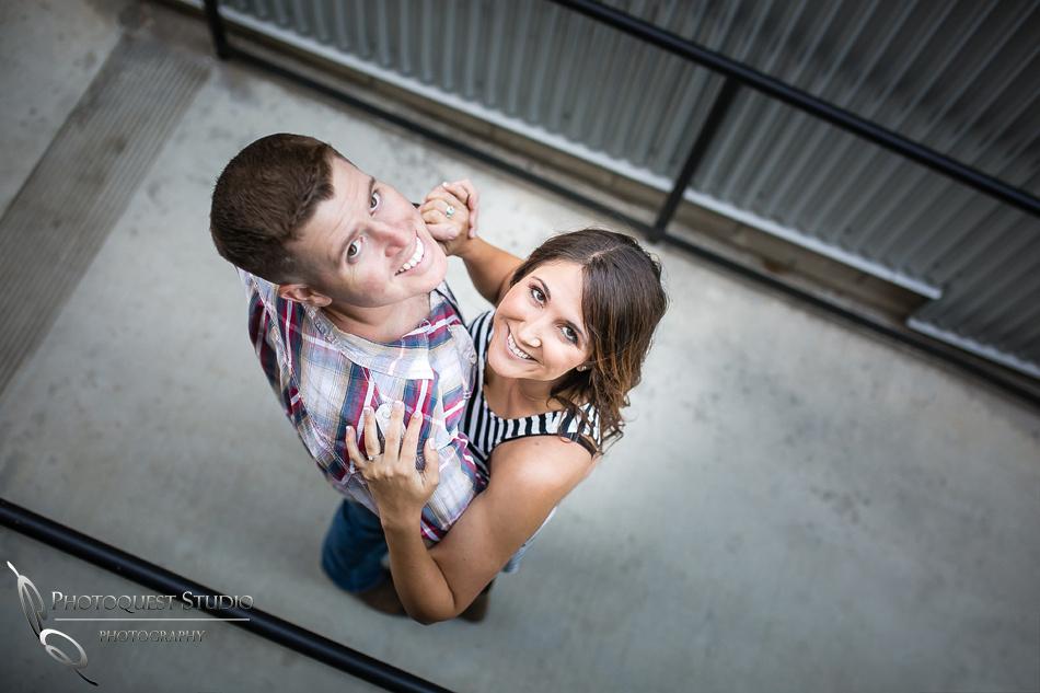 Engagement Photo at Wiens Temecula Winery & Old Town - Amanda & Jonathon