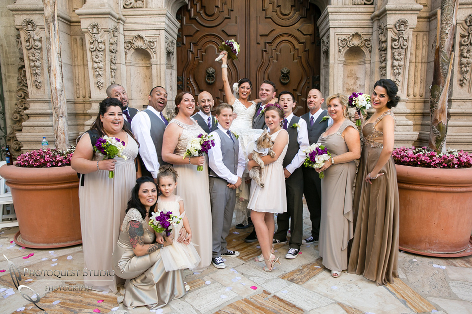 Mission Inn Hotel Wedding Photo by Riverside-Temecula Wedding Photographer of Photoquest Studio Photography - Davina and Steve