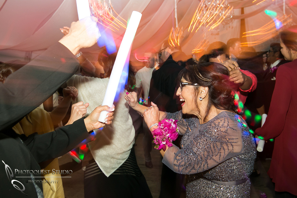 Mom rocking the dance floor