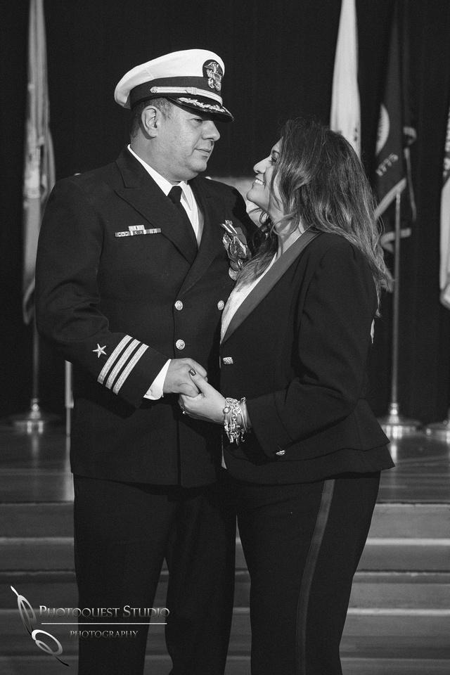 Commander Mata Retirement Ceremony at The Veterans Museum, Memorial Center,  Balboa Park, San Diego by Temecula Wedding Photographer