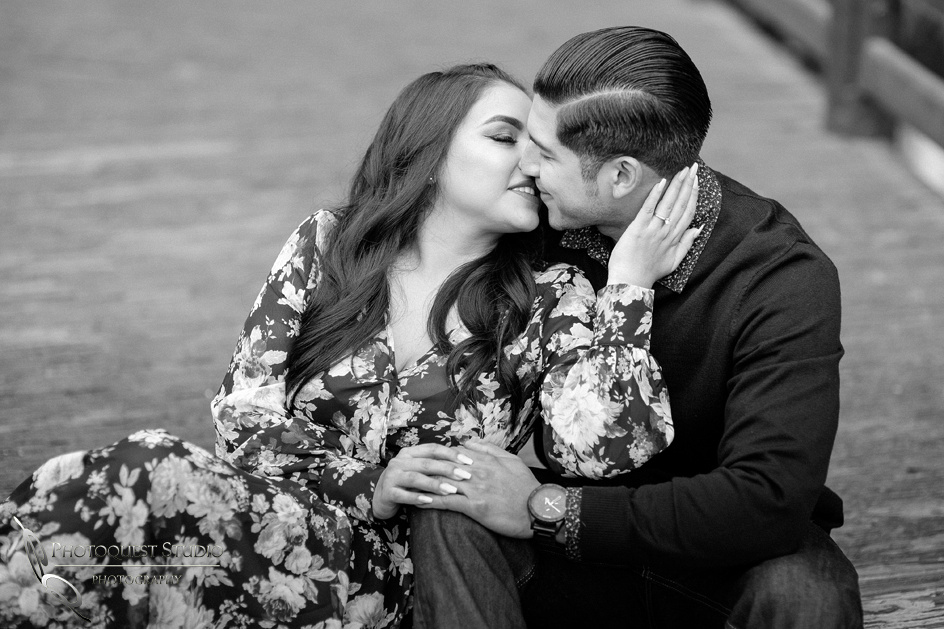 Kiss me, kiss me by Temecula wedding photographers