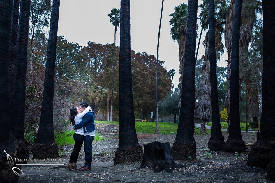 Kiss me by Temecula wedding photographer