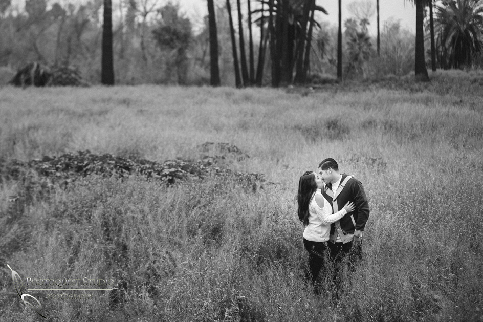 Outdoor Engagement photo by Temecula wedding photographer