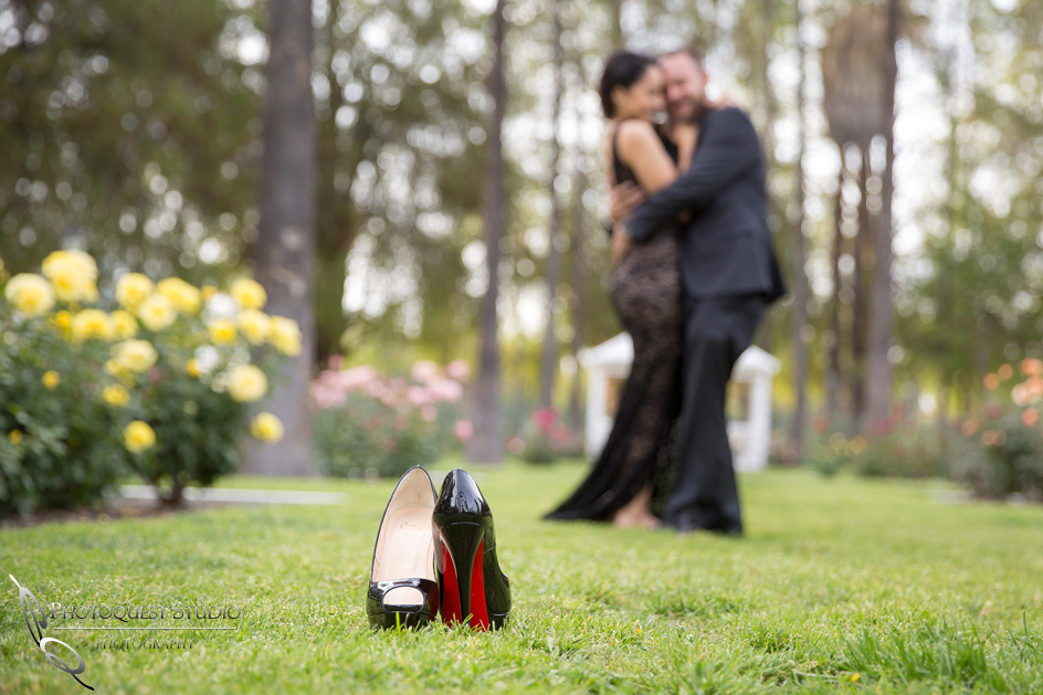 Christian Louboutin and the loving couple